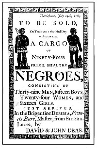 Slave Advertisment