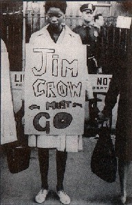 Protest Against Jim Crow Policies
